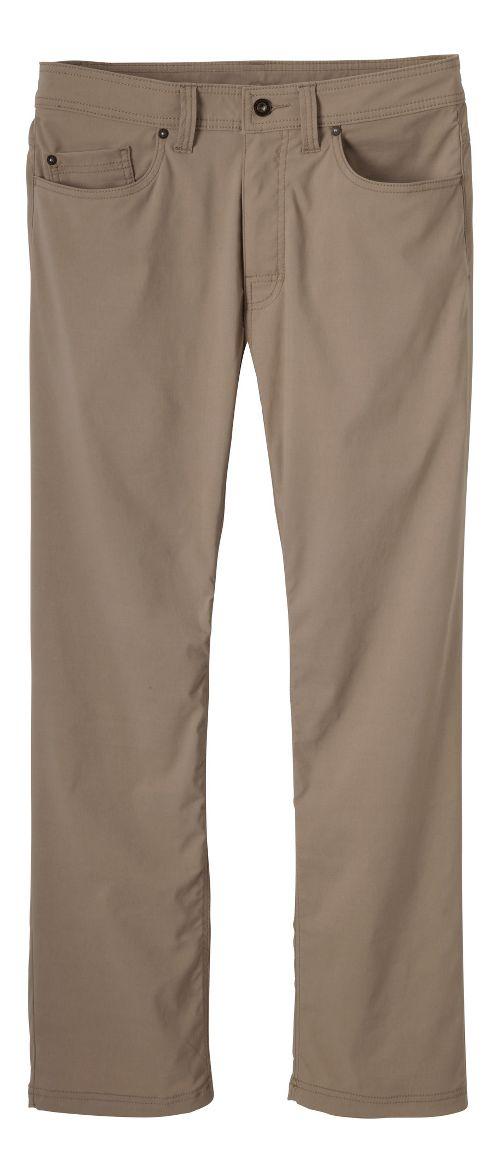 Mens prAna Brion Pants - Dark Khaki 38