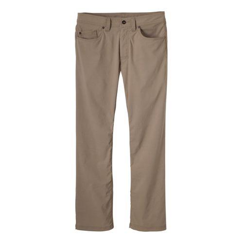 Mens Prana Brion Full Length Pants - Dark Khaki 30T