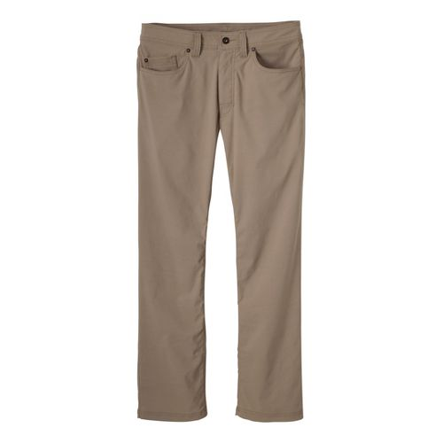 Mens Prana Brion Full Length Pants - Dark Khaki 36