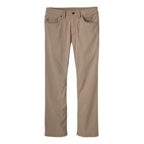Mens Prana Brion Full Length Pants - Khaki 28T