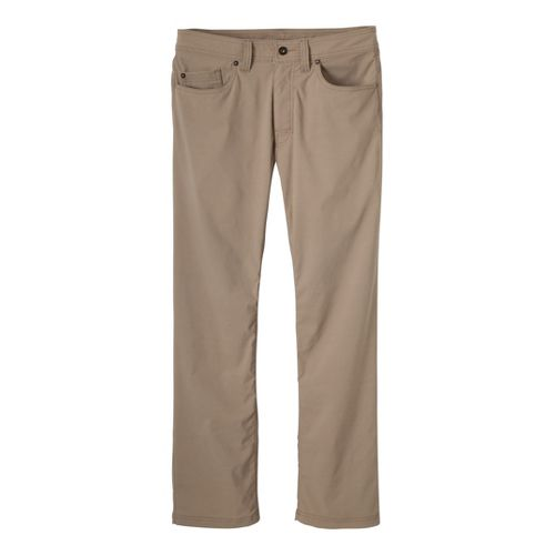 Mens Prana Brion Full Length Pants - Khaki 34S