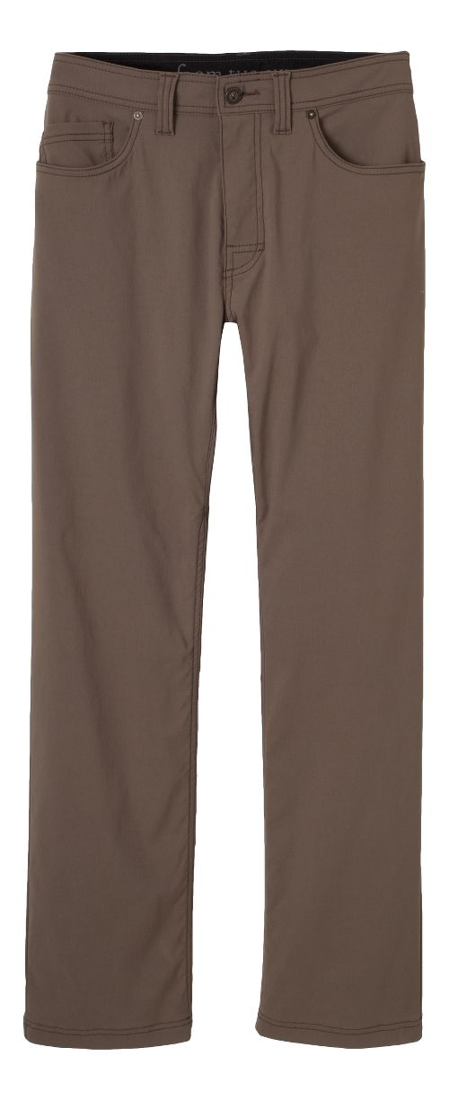 Mens prAna Brion Pants - Mud 31-T