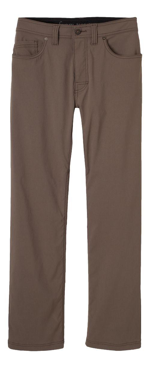 Mens prAna Brion Pants - Mud 32