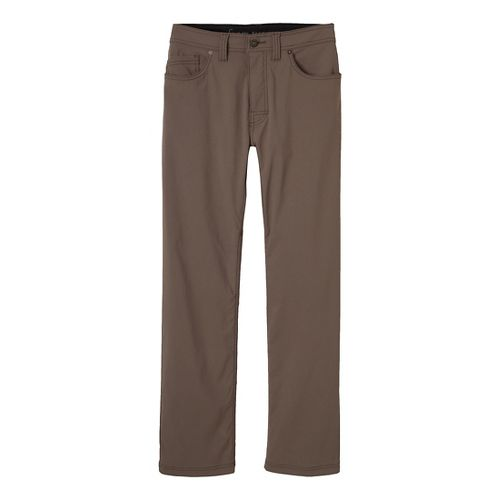 Mens prAna Brion Pants - Mud 40-S