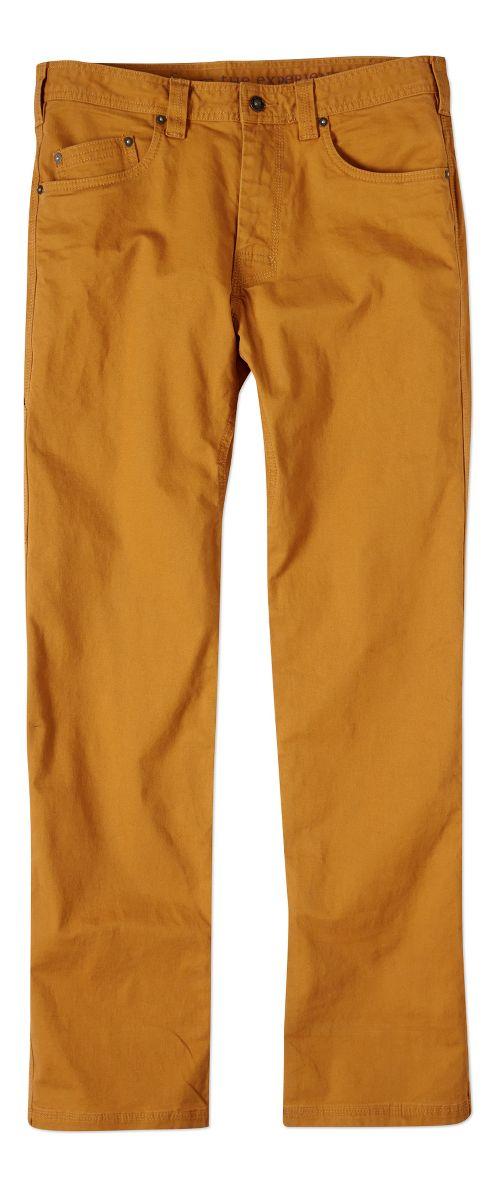 Mens prAna Bronson Pants - Cumin 33-T