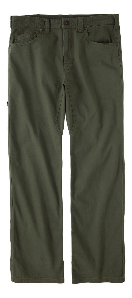 Mens prAna Bronson Pants - Cargo Green 28