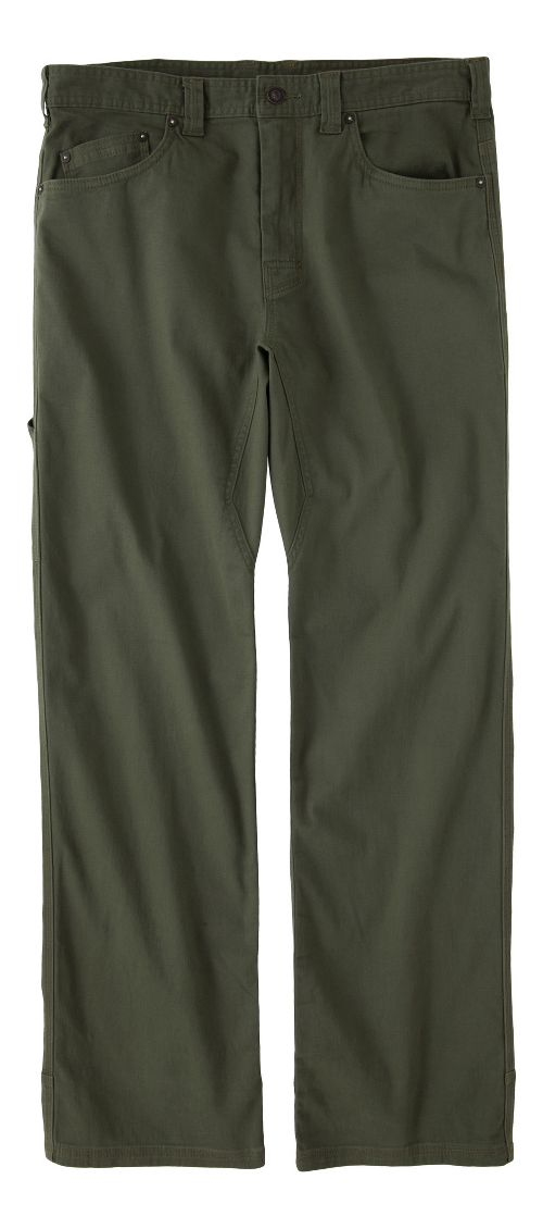 Mens prAna Bronson Pants - Cargo Green 36-S