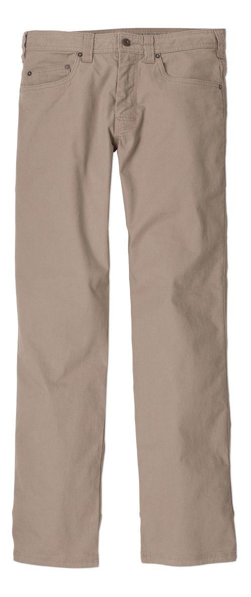 Mens prAna Bronson Pants - Dark Khaki 38