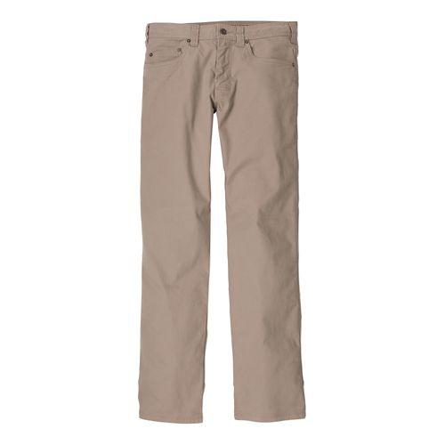 Mens Prana Bronson Full Length Pants - Dark Khaki 36T