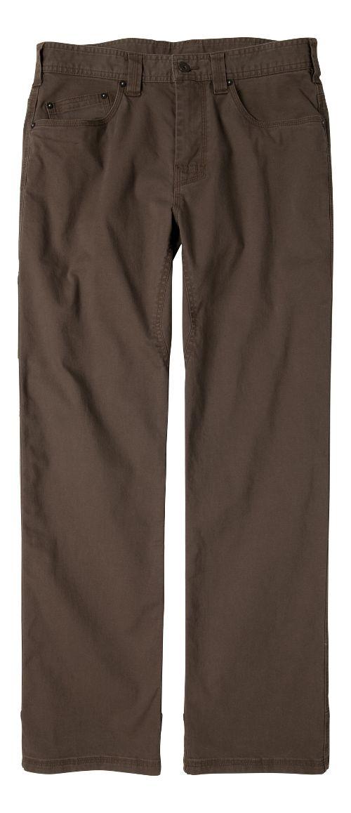 Mens prAna Bronson Pants - Mud 31-T