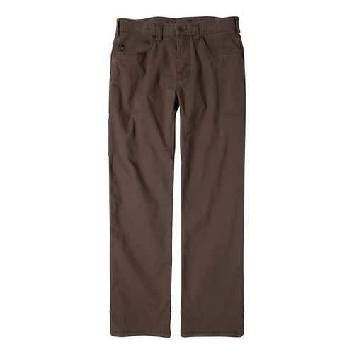 Mens prAna Bronson Pants - Mud 31-S