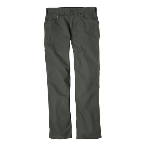 Mens Prana Bronson Full Length Pants - Pewter 34