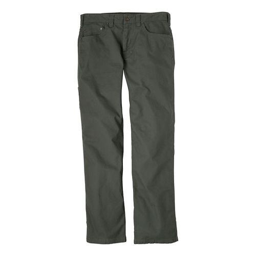 Mens Prana Bronson Full Length Pants - Pewter 36T