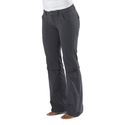 Womens Prana Monarch Convertible Full Length Pants - Coal 8T
