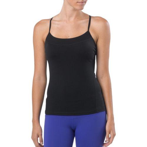 Womens Prana Perla Sport Top Bras - Black XL
