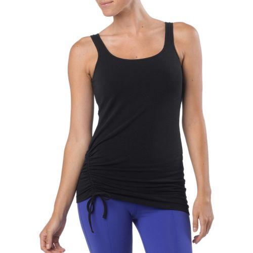 Womens Prana Ariel Tank Sport Top Bras - Black XL