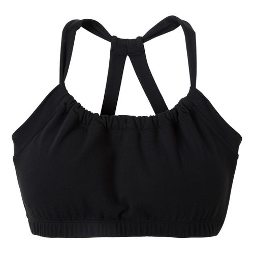Womens Prana Quinn Top Sports Bras - Black L