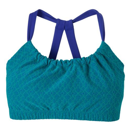 Womens Prana Quinn Top Sports Bras - Dragonfly Jacquard XL