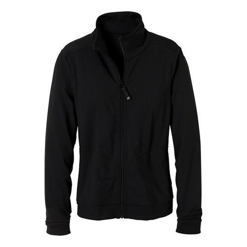 Womens Prana Randa Running Jackets - Black M