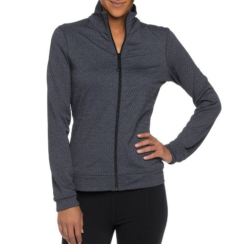 Womens Prana Randa Running Jackets - Black/Diamond XS