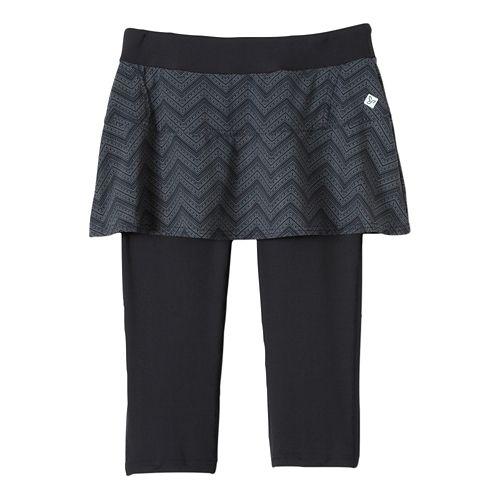 Womens Prana Darci Skirted Knicker Skort Fitness Skirts - Gravel L