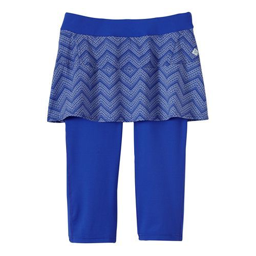 Womens Prana Darci Skirted Knicker Skort Fitness Skirts - Sail Blue M