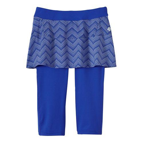 Womens Prana Darci Skirted Knicker Skort Fitness Skirts - Sail Blue S