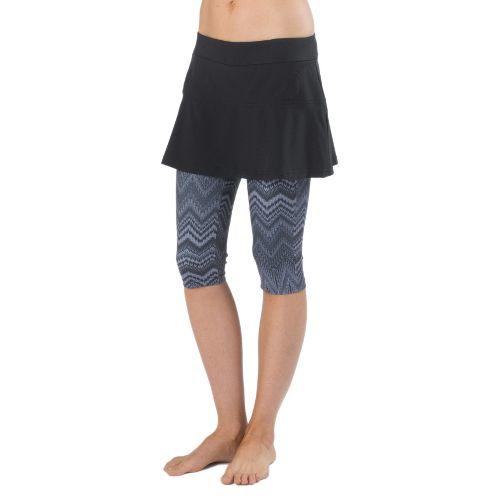 Womens Prana Darci Knicker Skort Fitness Skirts - Coal S