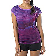 Womens Prana Electra Tee Short Sleeve Technical Tops