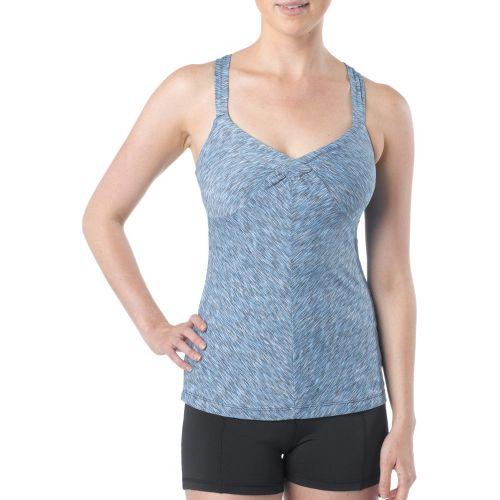 Womens Prana Solstice Top Sports Bras - Azure XL