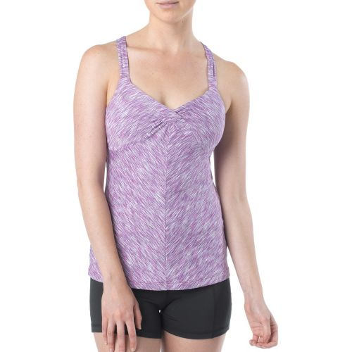 Womens Prana Solstice Top Sports Bras - Boysenberry S