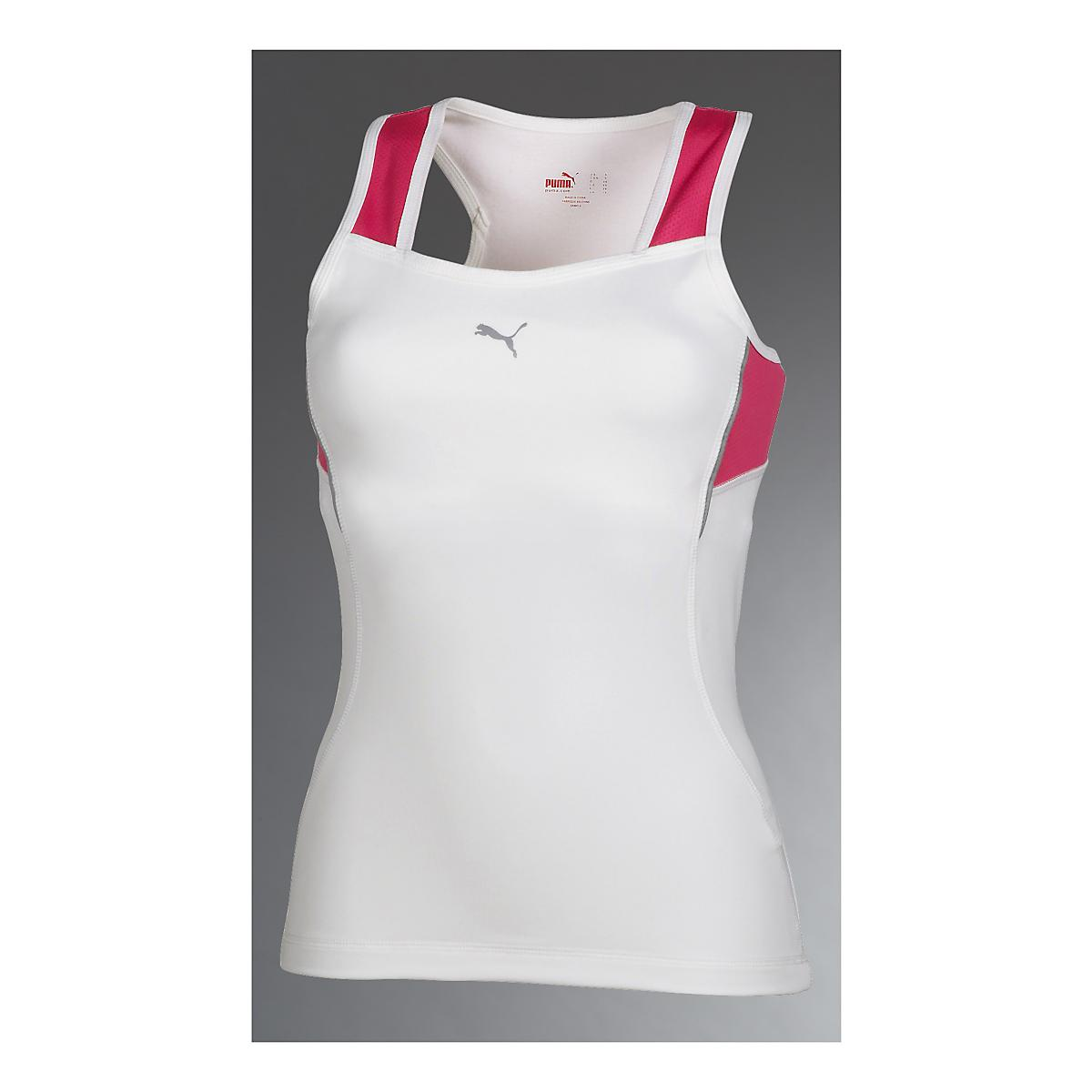 Womens PUMA Reflective Fitness Sport Top Bras at Road ...