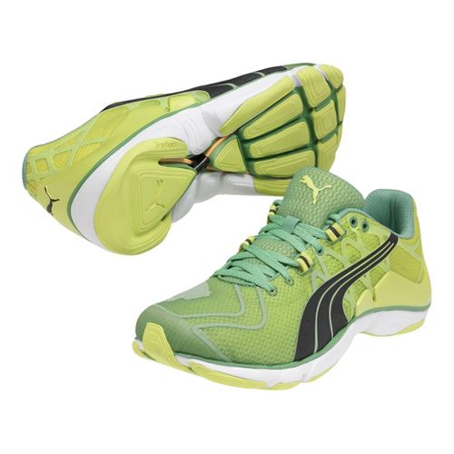 Mens Puma Mobium Elite v2 Running Shoe - Fluro Yellow 7