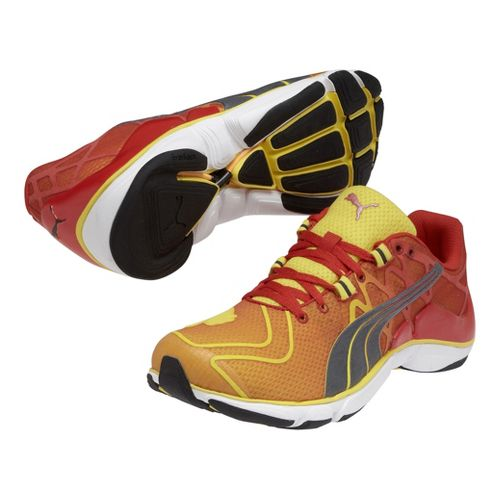 Mens Puma Mobium Elite v2 Running Shoe - Vibrant Yellow 10.5