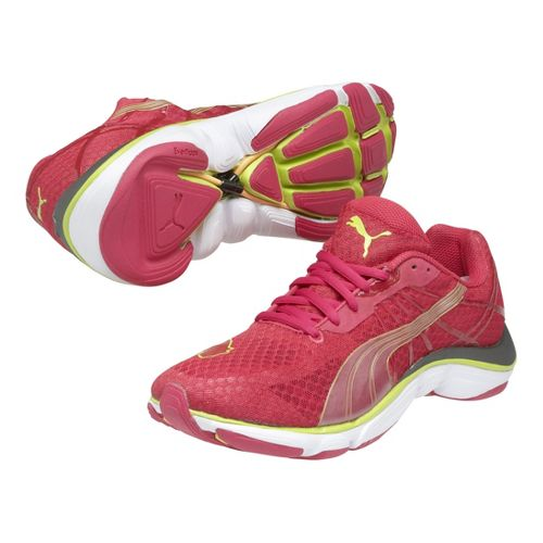 Womens Puma Mobium Elite v2 Running Shoe - Pink 6.5