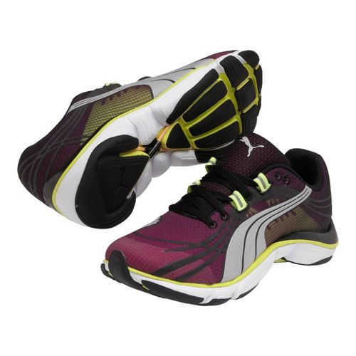 Womens Puma Mobium Elite v2 Running Shoe - Puma Magenta/Black 6.5
