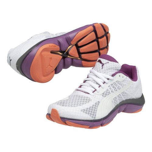 Womens Puma Mobium Elite v2 Running Shoe - White 7.5