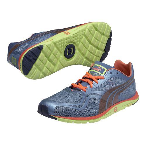 Mens Puma Faas 100 R Running Shoe - Blue 10.5