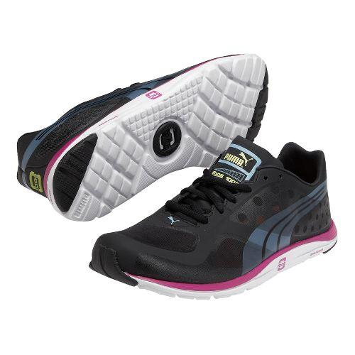 Womens Puma Faas 100 R Running Shoe - Black 11.5