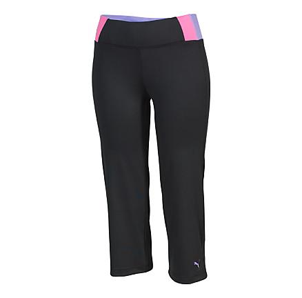 Womens Puma Color Block Capri Tights