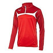 Mens Puma Esito 3 Training Jacket Long Sleeve 1/4 Zip Technical Tops