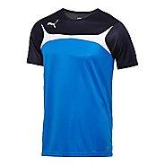 Mens Puma Esito 3 Training Short Sleeve Technical Tops