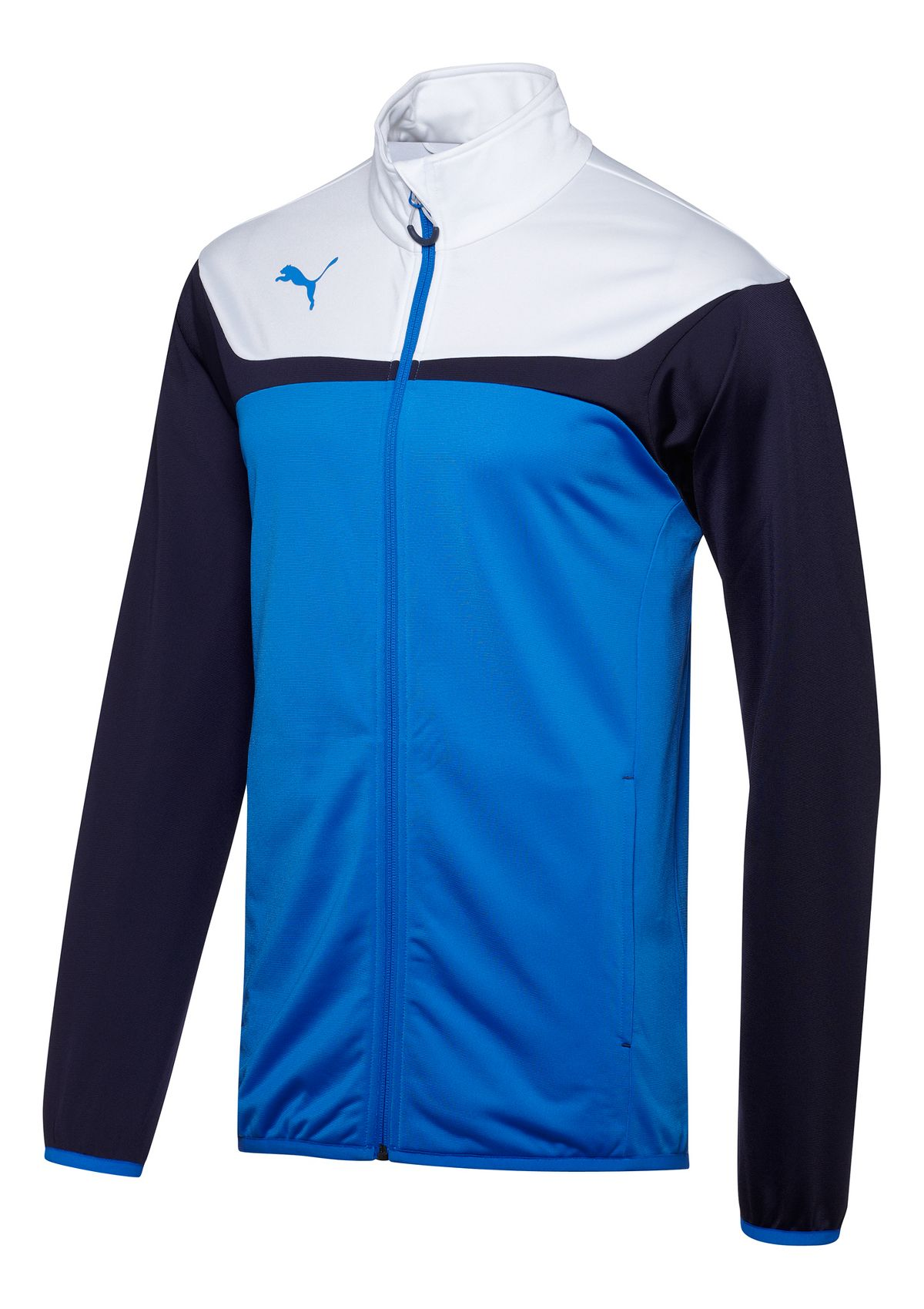 Kids Puma Esito 3 Tricot Warm-Up Unhooded Jackets At Road Runner Sports