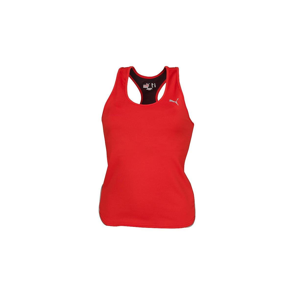 Womens PUMA Shimmel Tanks Technical Tops at Road Runner Sports