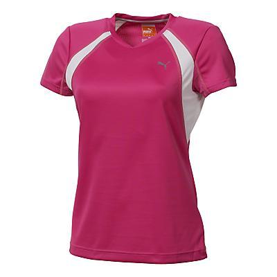 Womens Puma Tee Short Sleeve Technical Tops