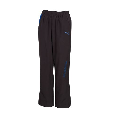 Mens Puma Woven Track Full Length Pants - Black S