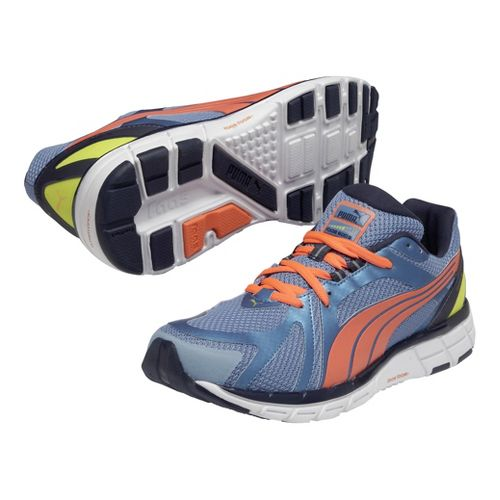Mens Puma Faas 600 S Running Shoe - Metallic Blue 12