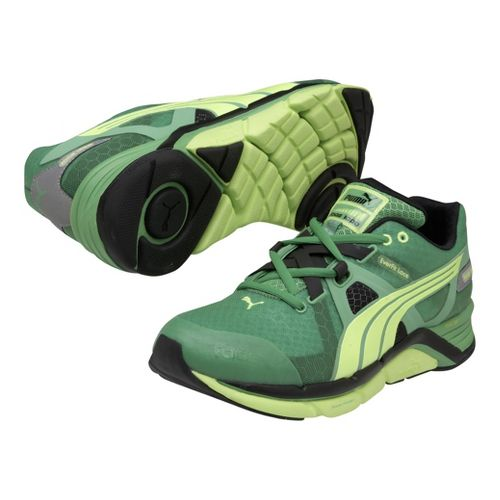 Mens Puma Faas 1000 Running Shoe - Island Green/Fluro Yellow 12