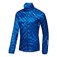 Mens Puma Graphic Lightweight Running Jackets