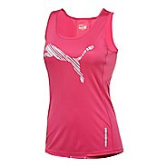 Womens Puma Pure NightCat Singlet Tanks Technical Tops